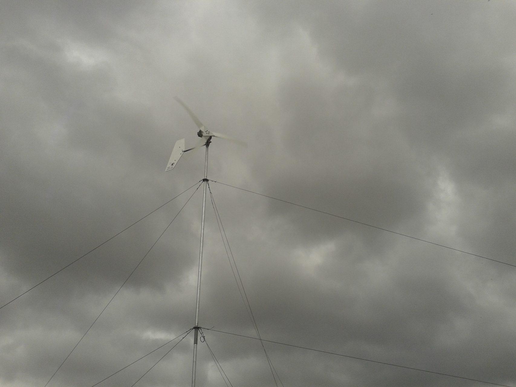 Λειτουργία σε ισχυρούς ανέμους