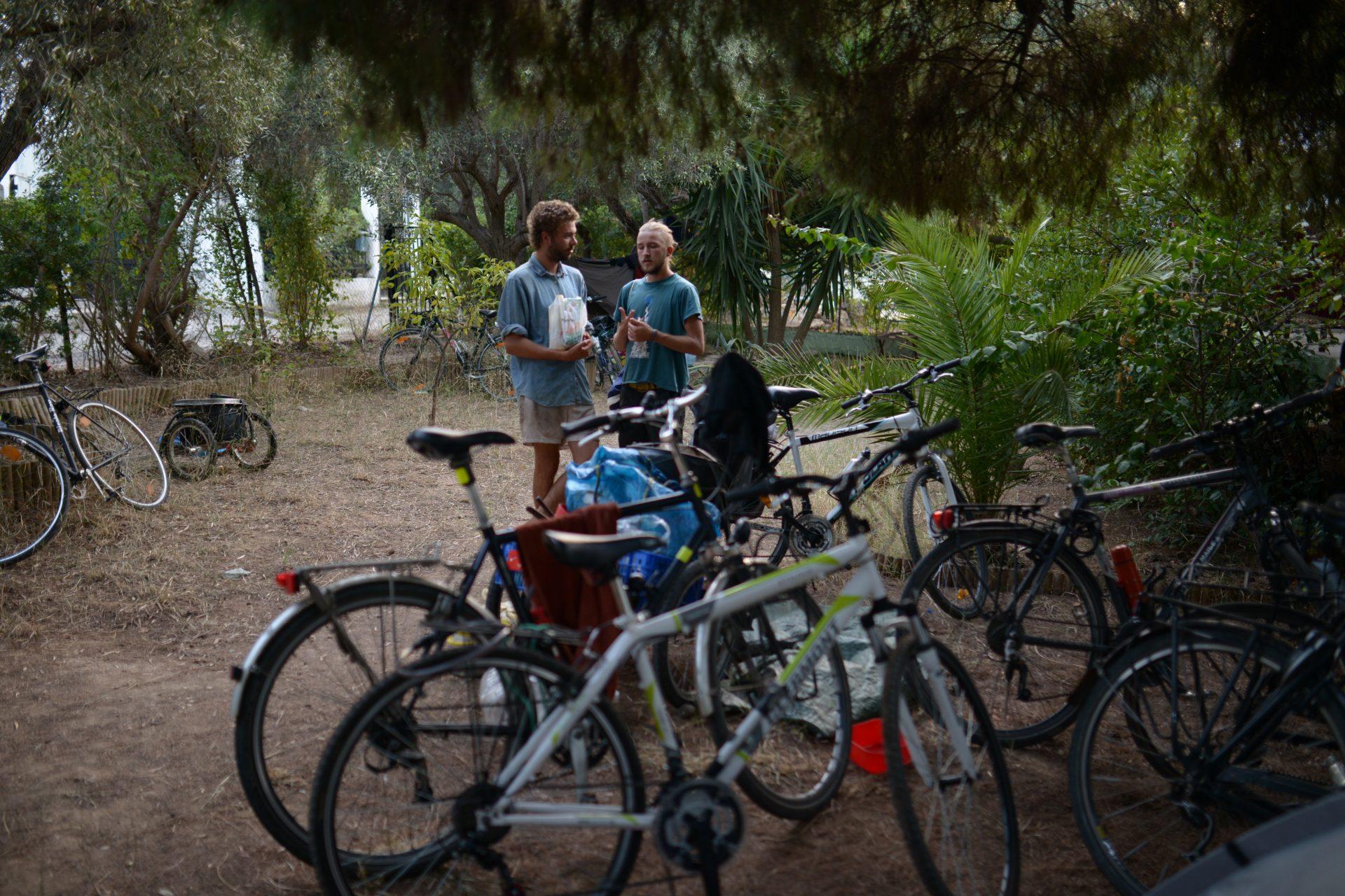 Ecotopia-bike tour in Nea Guinea