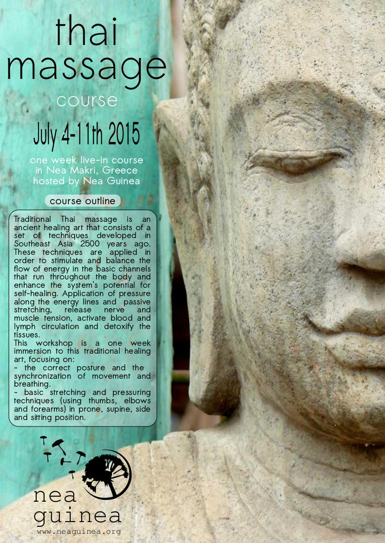 Thai Massage course p1