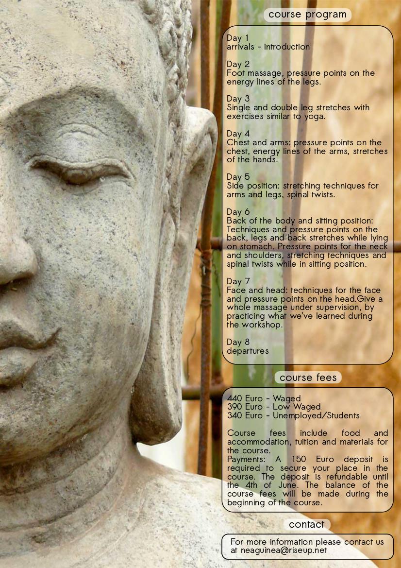 Thai Massage course p3